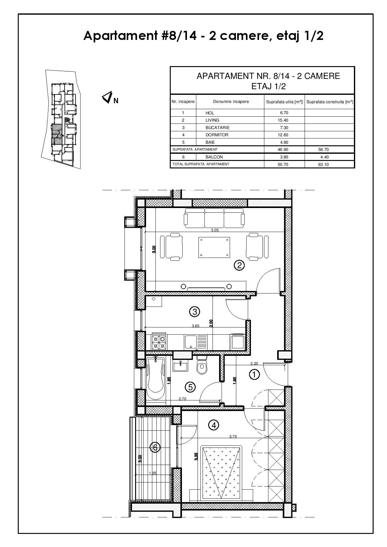 Apartament 08 / 14