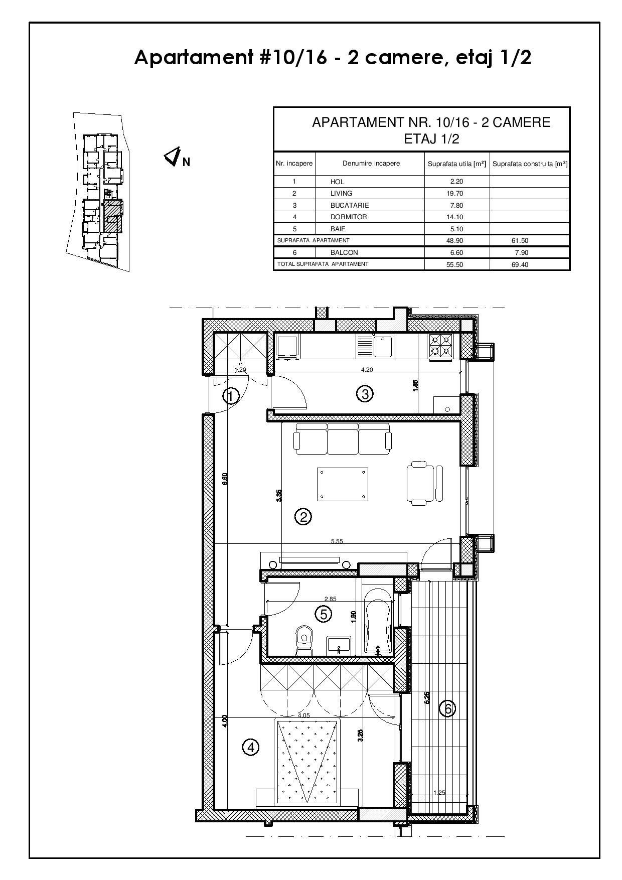 Apartament 10 / 16