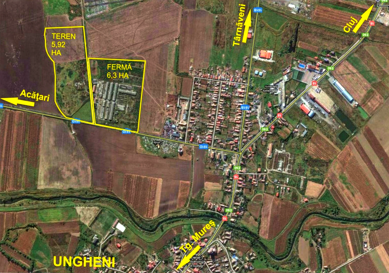 Harta Terenuri Ungheni Satelit Edit Ansambluriblocuri Ro